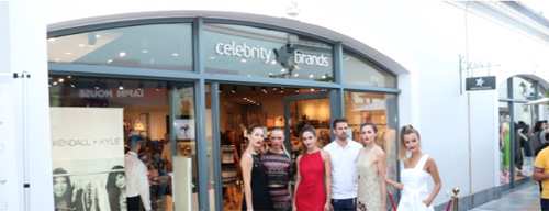 Opening the first Celebrity Brands Store