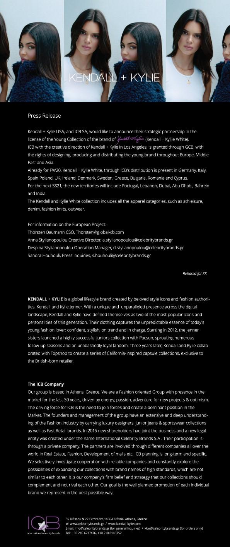 K+K White Press Release